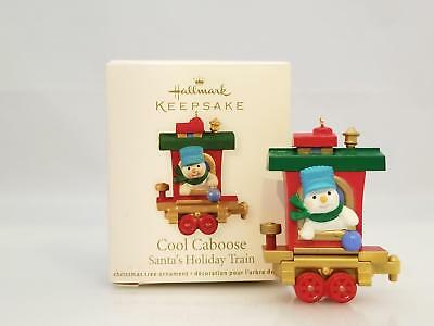 Hallmark Miniature Ornament 2011 Cool Caboose - Santas Holiday Train QRP5919-SDB