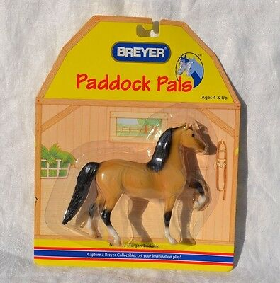 Breyer horse MORGAN BUCKSKIN Stallion Paddock Pals 2006 Model 1602 NIP Target