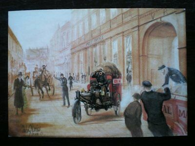 Postcard Royal Mail Avon Mercury Trimobile C1905