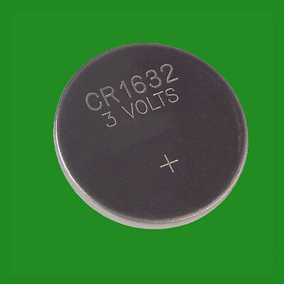 10x Maplin CR1632 3V High Performance Lithium Coin Battery Watches Calculator