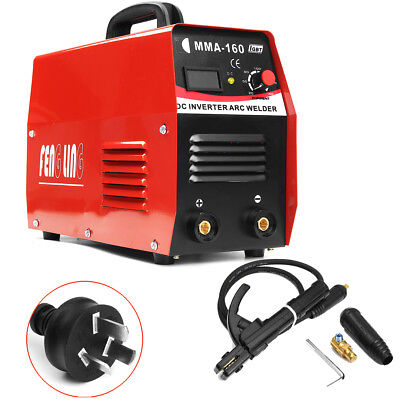 160A MMA Electric ARC Welder DC Inverter Tig Welding Machine Input AC 110V/220V