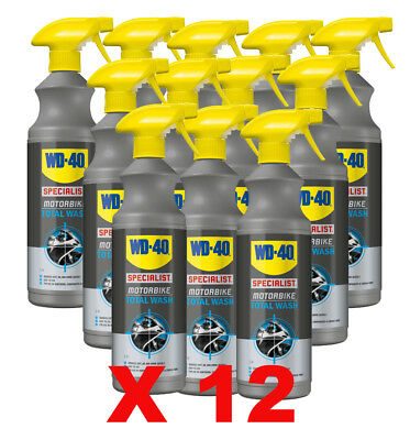WD-40 Specialist Bike Motorcycle All Over Total Wash Box of 12 Trade Pack Deal