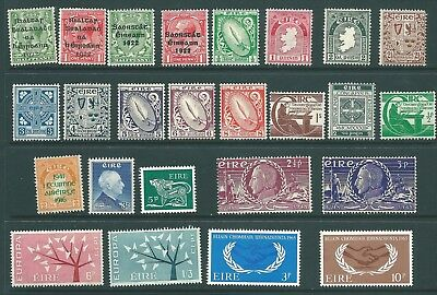 IRELAND mint stamp collection from 1922 onwards