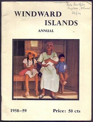 66 page Windward Islands Annual 1958-59  (YT1)
