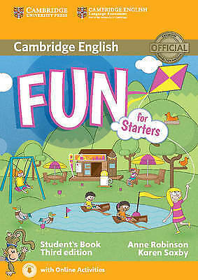 Fun for Starters Student's Book with Audio with Online Activities by Saxby, Kare