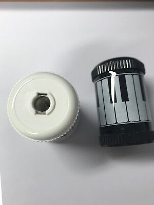 Barrel Sharpener - Keyboard Design Black or White