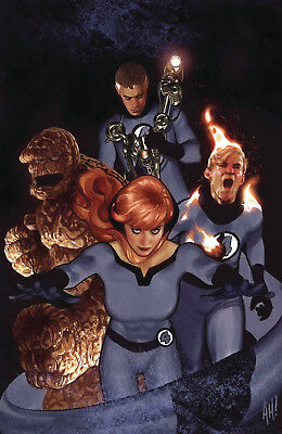Tony Stark Iron Man #3 Adam Hughes Return Of Fantastic Four Var - 8/15/18