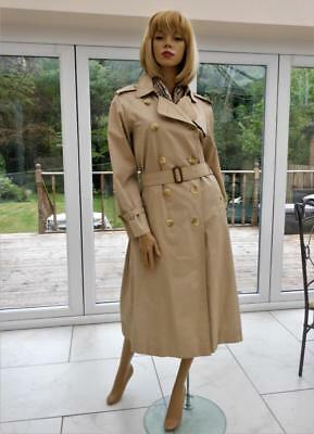 24300b85194 CHIC LADIES BURBERRY TRENCH COAT RAINCOAT MAC UK 10-12 US 8-10 EU  36-38-40-42-44 - EUR 232