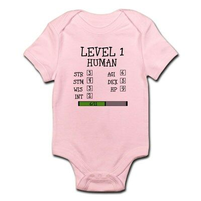 140c80878 CafePress Level 1 Human Body Suit Cute Infant Bodysuit Baby Romper  (835295992)