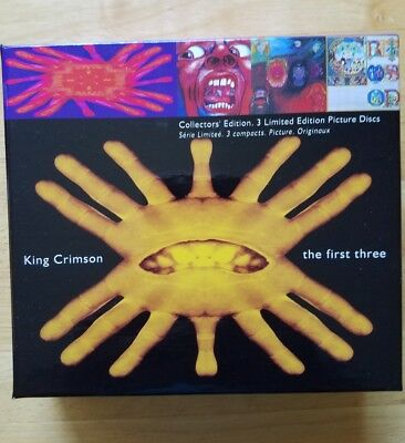 The In the Court of the Crimson King/In the Wake of Poseidon/Lizard [Box] by Kin