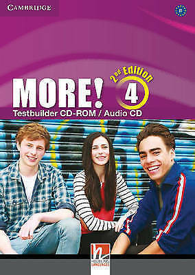More! Level 4 Testbuilder CD-ROM/Audio CD by Cassidy, Hannah