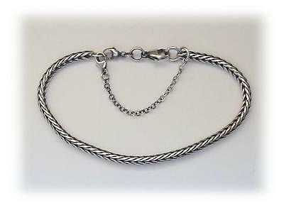 925 Sterling Silver Safety Chain for Popular Bead Bracelet