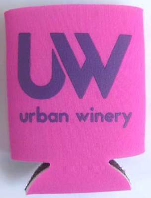 URBAN WINERY, PINKIES UP, Pink Wine Can KOOZIE, Silver Spring, MARYLAND, Coozie