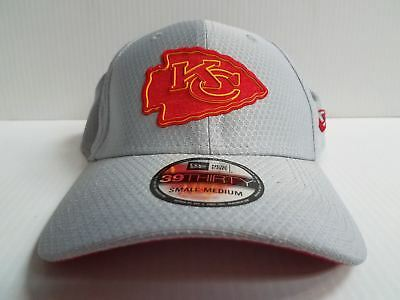 0a88744ca00 Kansas City Chiefs Cap New Era 39Thirty Stretch Fitted Hat 2018 Training  Camp