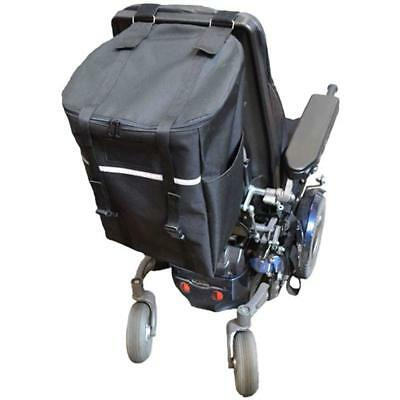 """Monster Seat Back Bag For Mobility Scooter & Powerchair  Large13""""W x 18""""H x 10""""D"""