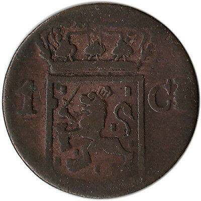 1840 Netherlands East Indies - Sumatra 1 Cent Coin KM#290