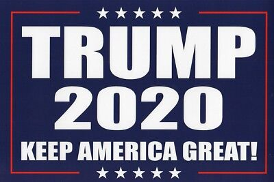 2020 Donald Trump Keep America Great Campaign Poster Sign