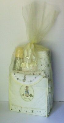 BEATRIX POTTER 10 Piece Baby Gift Set in Yellow - New