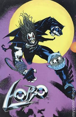 Lobo Promo Flyer Sheet #FLYER#1 1990 FN 6.0 Stock Image