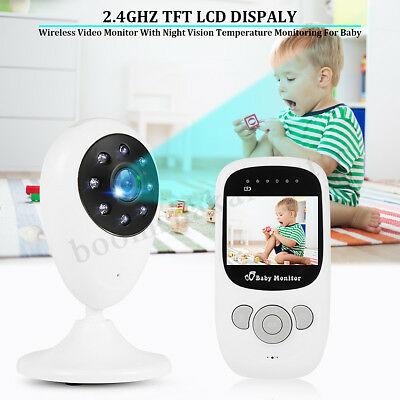 Wireless Digital Baby Monitor Camera Audio Video Night Vision Home Pet Safety AU