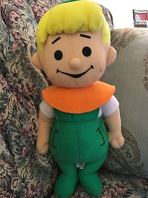 "ELROY THE JETSONS HANNA BARBERA CHARACTER PLUSH Doll Toy Factory 13"" #F4"
