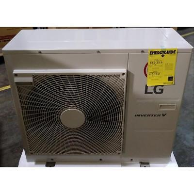 Lg Lmu30Chv/awgbeus 2-1/2 Ton Multi F Single-Zone Outdoor Mini-Split Heat Pump