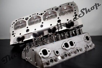 PERFORMANCE 327-350-400 CHEVY Cylinder Heads 434 Sbc Bronze Guides  500  Springs