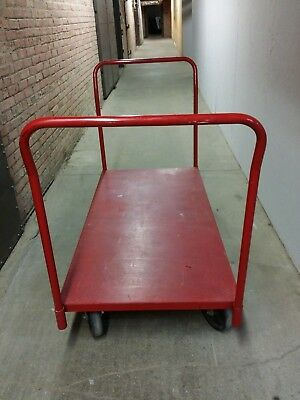 Grainger / Dayton Steel Platform Cart 2500 lb, 30 x 60, two handles