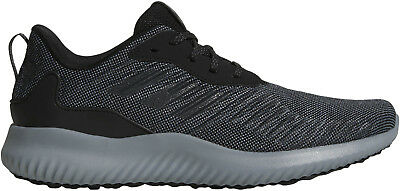 uk availability fb6a0 ace97 adidas AlphaBounce RC Mens Running Shoes Cushioned Sports Trainers Black
