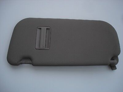HYUNDAI i10 DRIVERS SIDE / RIGHT HAND SIDE SUN VISOR IN BROWN 2013 TO 2017