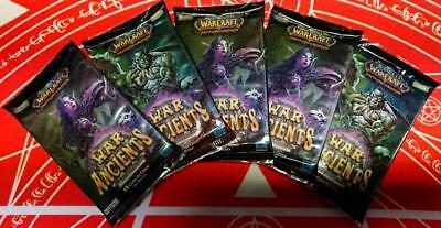 WOW TCG ITALIAN War of the Ancients LOT OF 5 Sealed Booster Packs