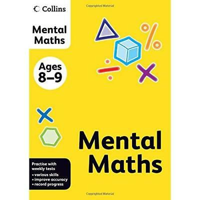 Collins Practice - Collins Mental Maths: Ages 8-9 - Paperback NEW  2011-12-05