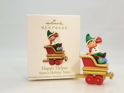 Hallmark Miniature Ornament 2011 Happy Helper - Santas Holiday Train QRP5909-SDB