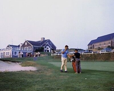President John F. Kennedy plays golf at the Hyannisport Club JFK New 8x10 Photo