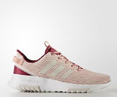 f3bdd7a2883f USED Women s ADIDAS CLOUDFOAM RACER TR CG5786 PINK Running Casual Sneaker  Shoes