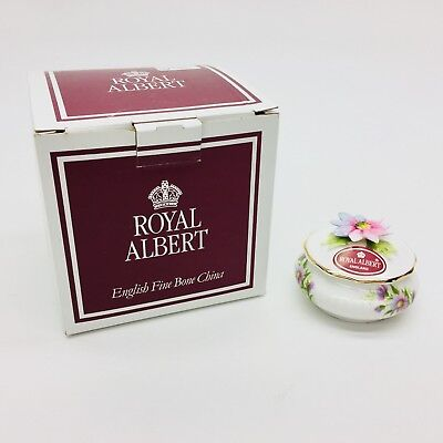 Royal Albert Floral Candy Box Flower of the Month September Michaelmas Daisy NEW