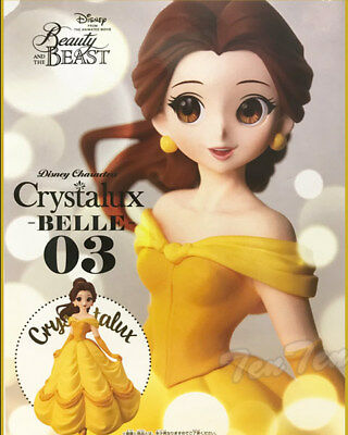 EC Banpresto Disney Characters Crystalux Beauty and the Beast Belle