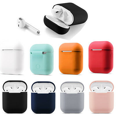 AirPods Case Protective Silicone Skin Holder Bag for Apple Air Pod Accessories x
