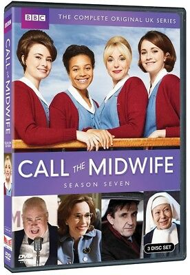 CALL THE MIDWIFE: Complete Season 7 Seven Seventh (DVD, 2018, 3-Disc Set) NEW!