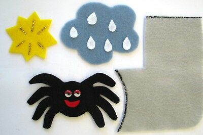 Incy Wincy Spider Felt Story Rhyme Characters Teacher Resource