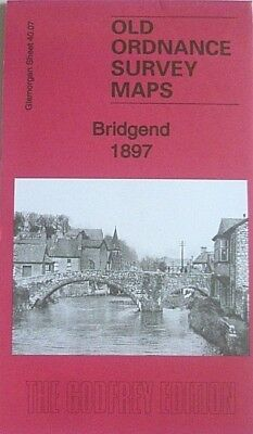 OLD ORDNANCE SURVEY  MAPS BRIDGEND GLAMORGAN 1897 Godfrey Edition Special Offer
