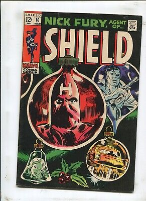 Nick Fury, Agent Of S.h.i.e.l.d #10 - Night Before Christmas! - (7.5) 1969