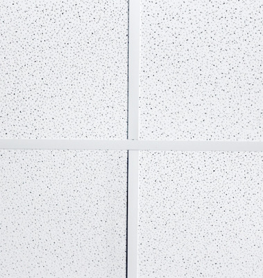 Suspended Fine Fissured Acoustic Ceiling Tiles 595x595 Square Edge 600x600mm 8x