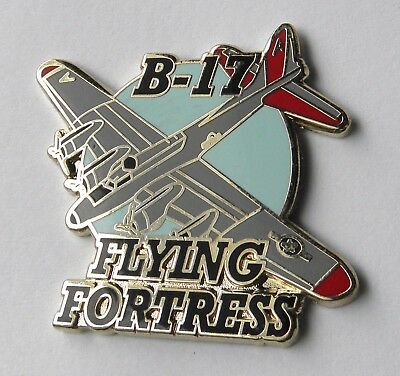 Flying Fortress B-17 Bomber Usaf Us Air Force Aircraft Pin Badge 1.25 Inches