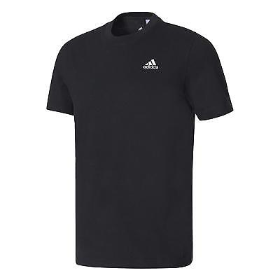 adidas Essential Base Tee - schwarz - S98742 -Basic T-Shirt
