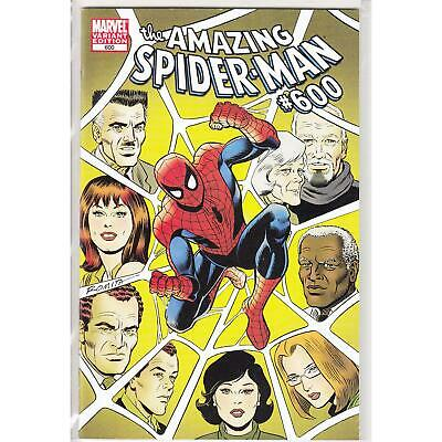 Amazing Spider-Man 600 1:25 Variant Edition (Romita Sr.) (Vol. 1)