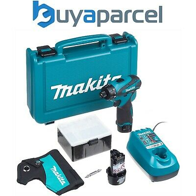 Makita DF030DWE LXT 10.8v Li-Ion Lithium Drill Driver - Includes 2 Batteries