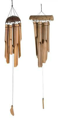 Bamboo Hanging Wind Chime Garden Decoration Ornament