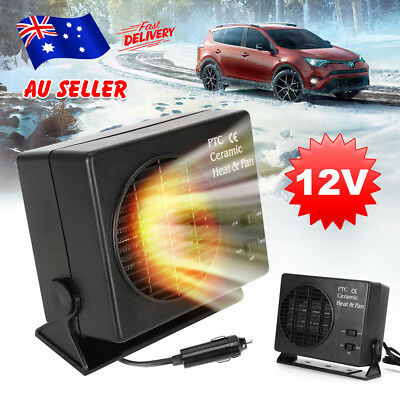 Hot&Cool Car Auto Electric Van Fan Heater Window Defroster Demister 12v 150/300W