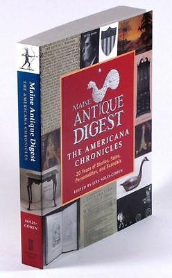 Maine Antique Digest Anthology- Articles About American Antiques Folk Art &+